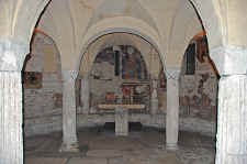 Spoleto Crypt of St. Isaac
